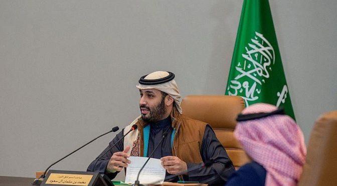 Его Высочество наследный принц принял телефонный звонок от наследного принца Кувейта