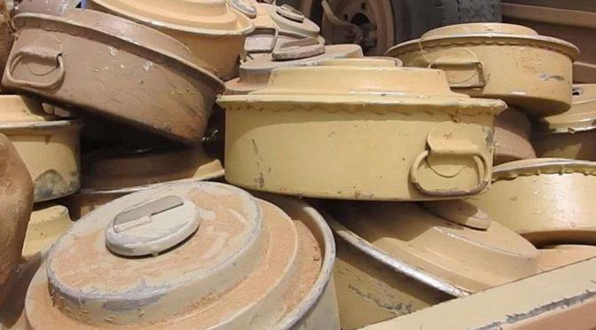 """В рамках проекта """"Масам"""" в течение третьей недели января обезврежено 1446 мин"""