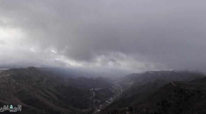 Туман охватывает Великолепную Баху