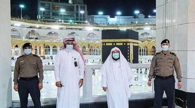 Управление по делам мечети аль-Харам и мечети Пророка усилило прифилактические меры в мечети аль-Харам