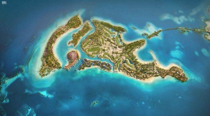 """Его Высочество наследный принц запустил проект «Coral Bloom» для главного острова в рамках проекта """"Красного море"""""""