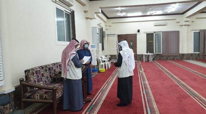 Министерство по делам Ислама в Касыме провело 2606 полевых выездов в мечети