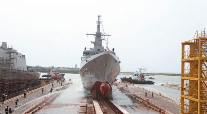 """Королевские ВМФ Саудии приняли корабль """"Хаиль"""" в Королевстве Испания"""