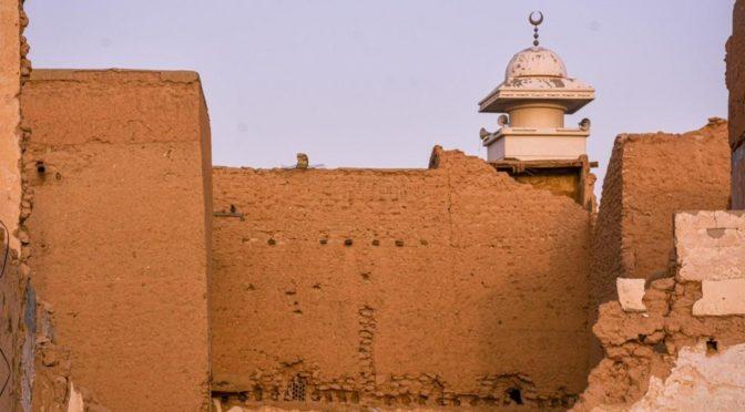 Исторические здания в центре Эр-Рияда