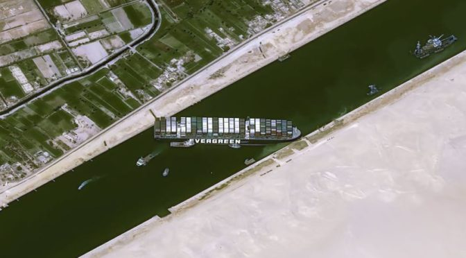 Королевство: Мы уверены в способности Египта разрешить кризис с судном, севшим на мель