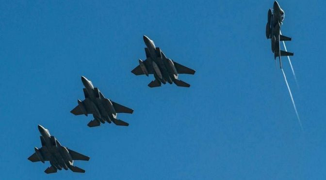 Прибытие группы Королевских ВВС Саудовской Аравии для участия в учениях «Глаз сокола-1» в Греческой Республике