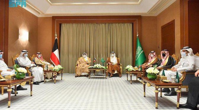 Министр энергетики КСА обсудил с министром нефти Кувейта пути расширения сотрудничества в различных областях энергетики