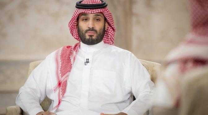 Его Высочество наследный принц КСА принял наследного принца Абу-Даби