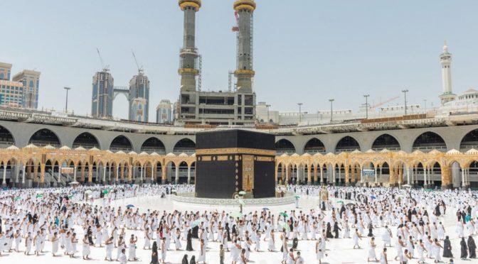1500 женщин обслуживают посетительниц  Запретной Мечети