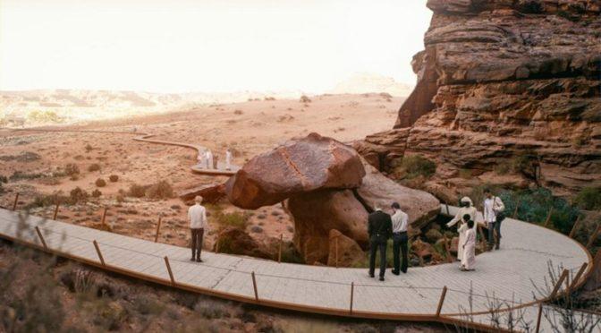 Его Высочество наследный принц запустил проект «Путешествие во времени» в рамках программы развития аль-Уля»