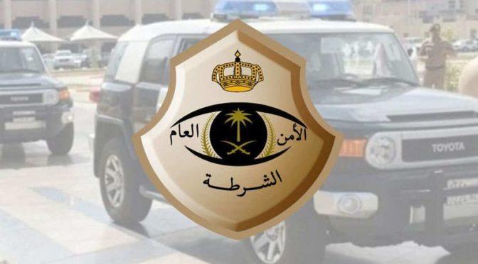 Дорожная полиция Благородной Мекки задержала водителя, ехавшего навстречу движения