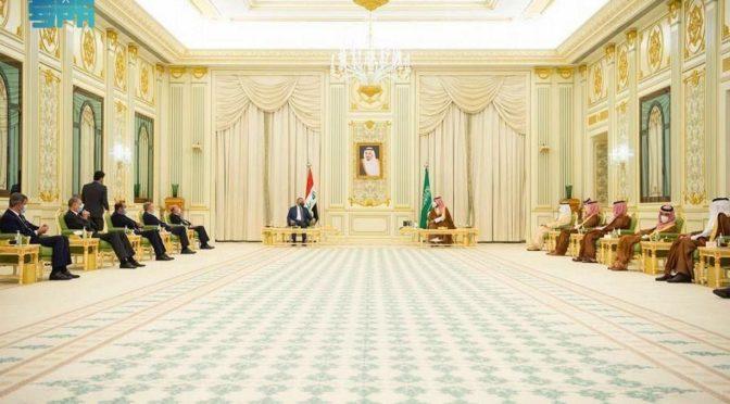 Его Высочество наследный принц и премьер-министр Ирака провели официальную сессию переговоров