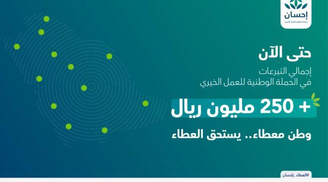 Служитель Двух Святынь пожертвовал 20 млн.риалов на благотворительные и некоммерческие проекты через платформу «Ихсан»