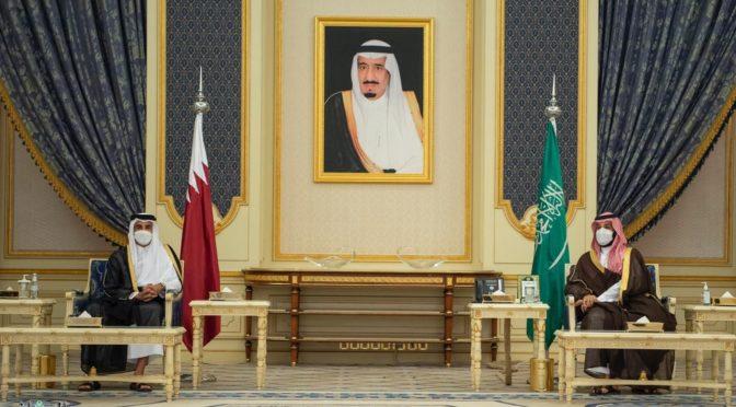 Наследный принц и эмир государства Катар провели двусторонние переговоры
