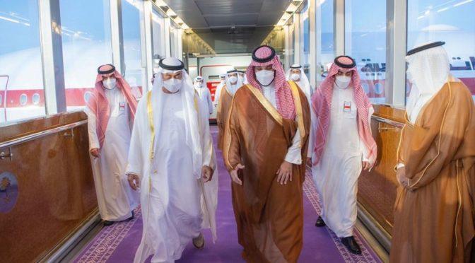 Королевство избрало фиолетовый цвет для ковров на церемониях приёма гостей и посетителей