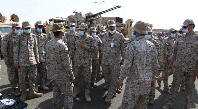 Заместитель начальника генерального штаба инспектировал подразделения на южной границе