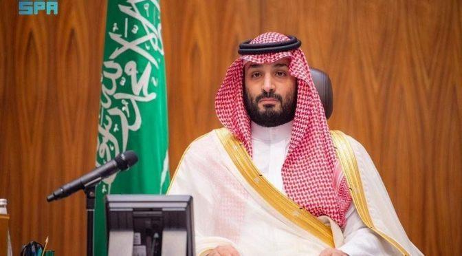 Его Высочество наследный принц встретился с министром иностранных дел Великобритании