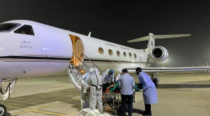 Санитарная авиация Министерства обороны эвакуировала саудийскую семью, заражённую коронавирусом, из Индии в Королевство