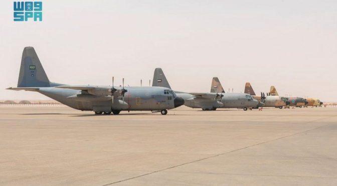 Совместные учения ВВС «Тувайк 2» начались в центральном военном округе Королевства