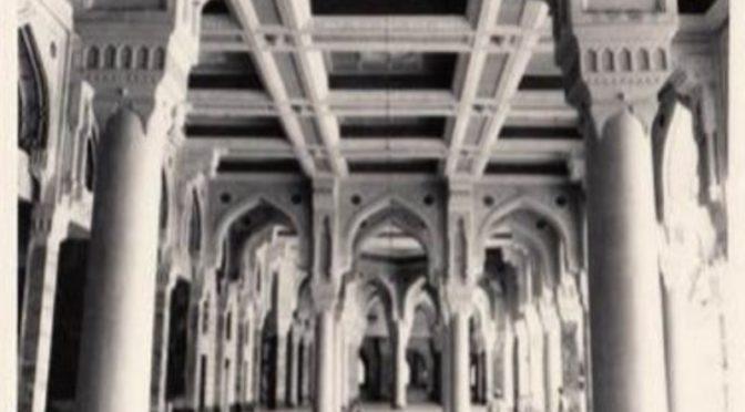Фотографии 70-ых годов Хиджры, запечатлевшие величие саудийских построек в Запретной Мечети