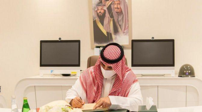 По распряжению наследного принца: Заместитель министра обороны посетил Генштаб ВС и объёдинённое командование
