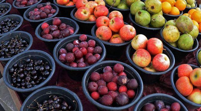 Сезонные фрукты: дары земли и подарок посетителям провинции Асир