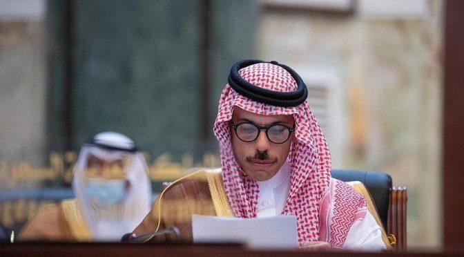 Министр иностранных дел КСА принял члена Переходного суверенного совета Судана