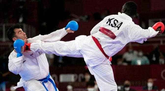 Наследный принц встретился с Тариком Хамиди, серебрянным призёром на Олимпиаде в Токио в 2020г.