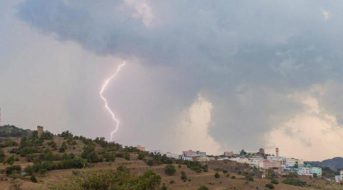 Дожди над провинцией Баха